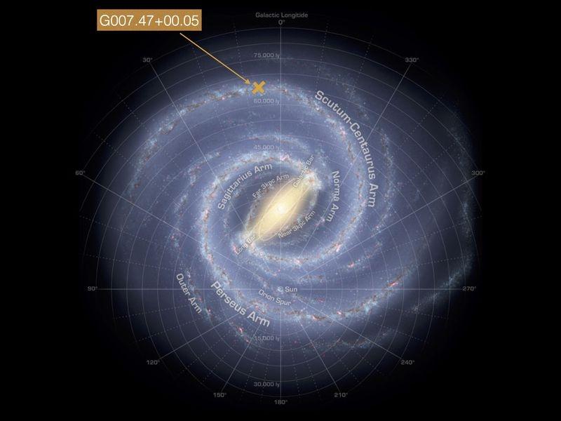 Определиха точните размери на Млечния път