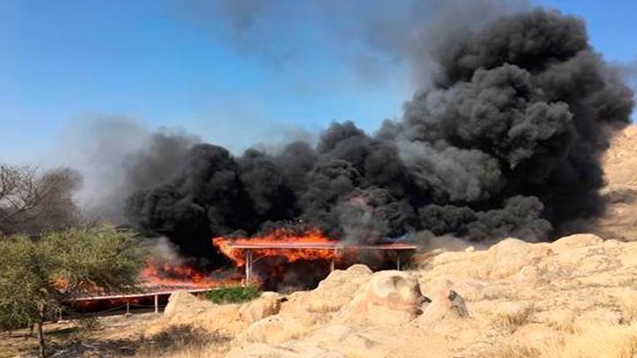 Пожар унищожи древен храм в Перу
