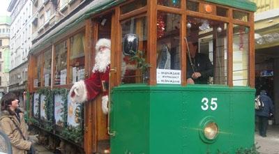 От днес тръгва коледен трамвай в София