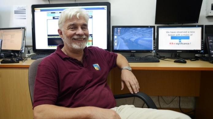 """Видео от лекцията на Леандър Литов за Катедра """"Астрономия"""" на СУ"""