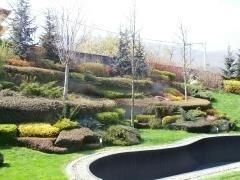 Благоустрояване и вертикално планиране на дворни градини