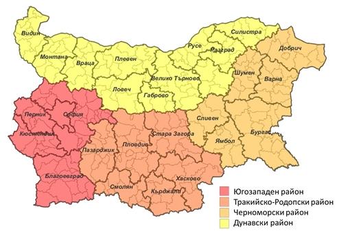 Днес ще се проведе дискусия за новото райониране на страната