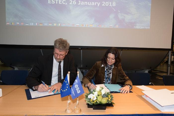 Подписан е договор за ново поколение сателити EGNOS