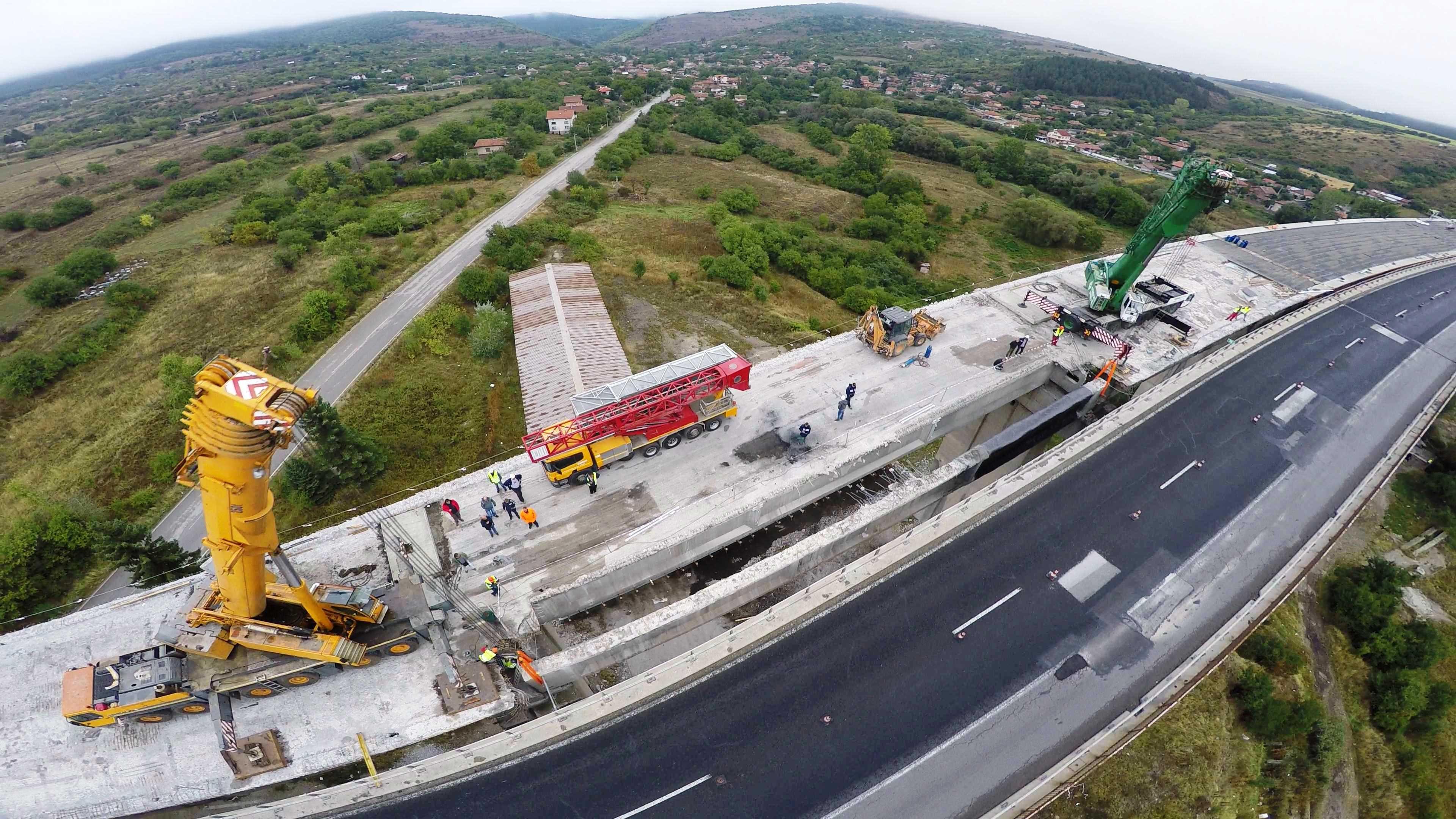 """Отсечка на """"Хемус"""" с дължина 9 км получи разрешение за строеж"""