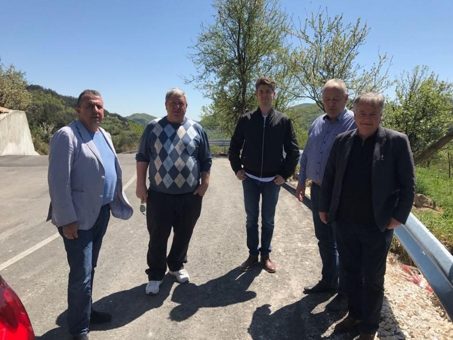 Зам.-министър Йовев инспектира новия обходен път за Тикале