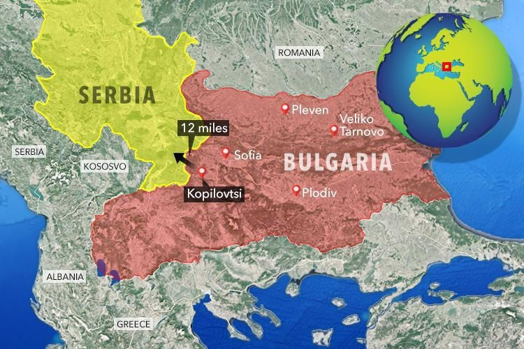 Британски таблоид обедини България и Македония на карта