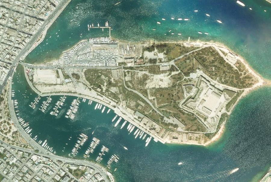 Малта с нова аероснимка