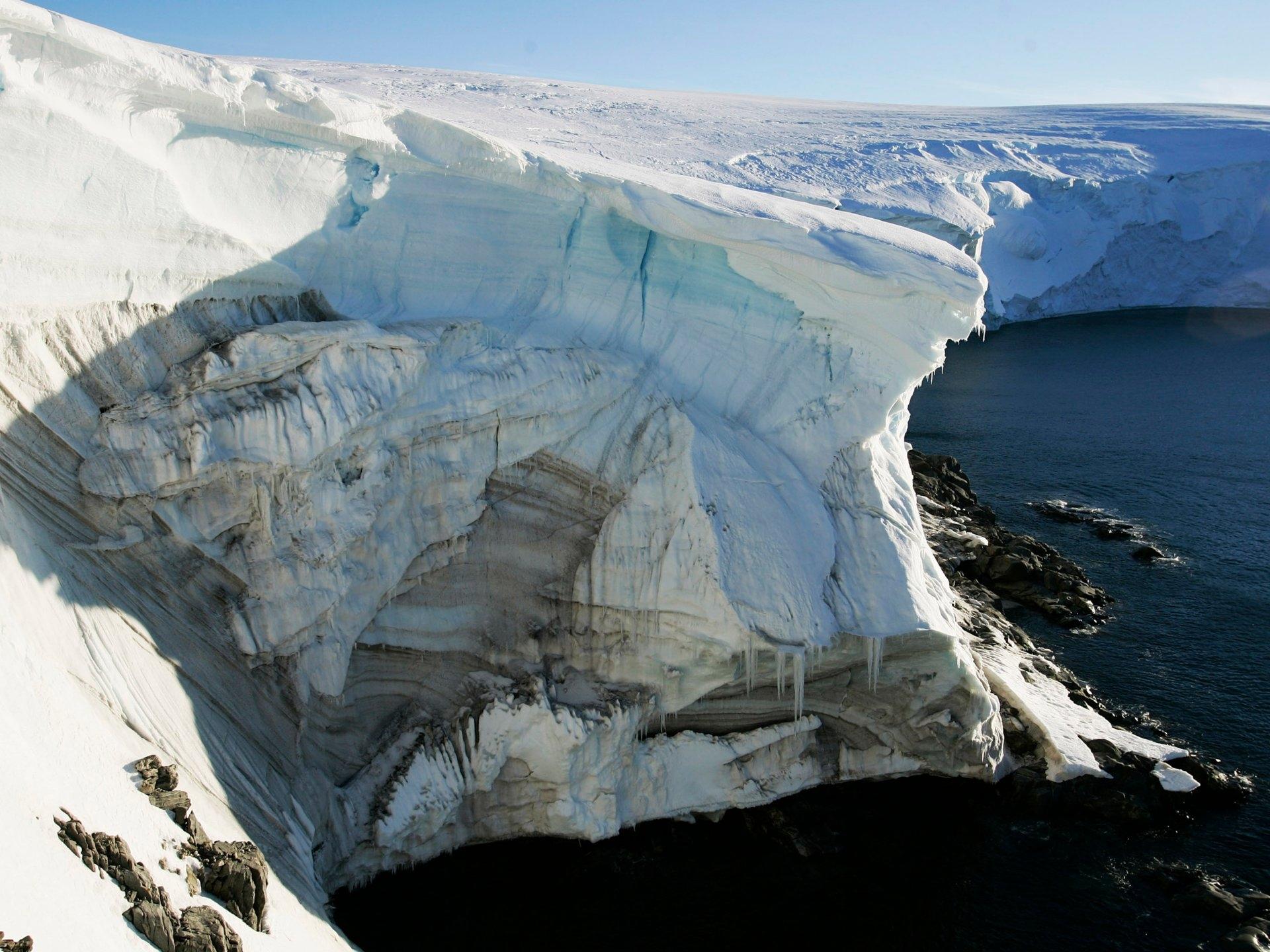Континенти се крият под Антарктида