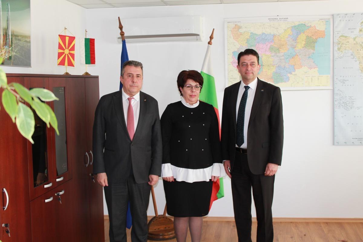 България и Северна Македония свързаха нивелачните си мрежи