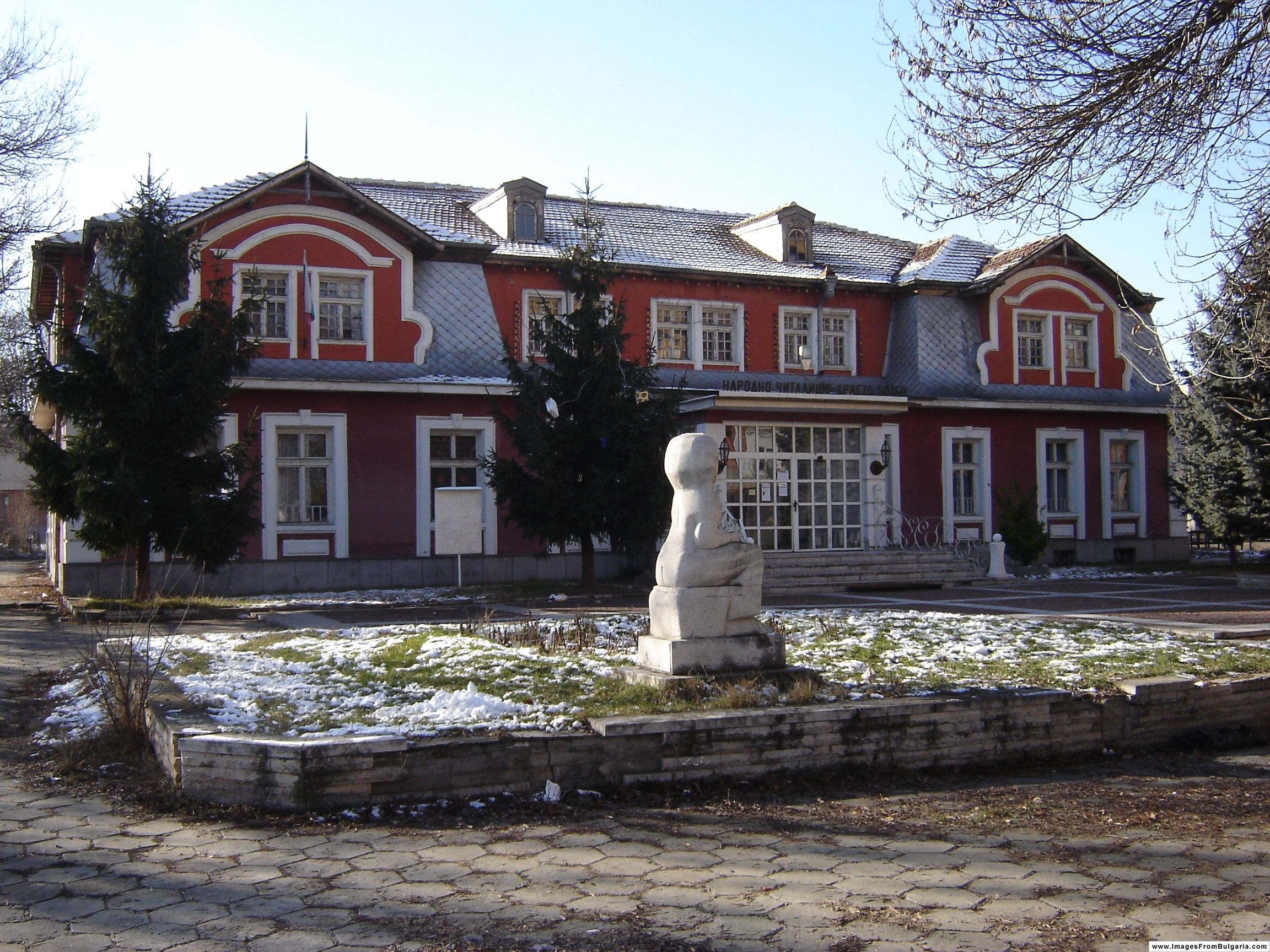 График за геодезическо заснемане край София