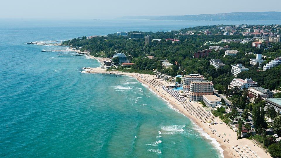 Строят изкуствен остров край Варна