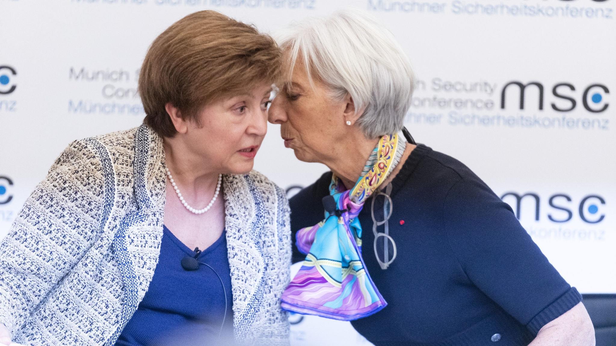 Кристалина и Кристин поеха световната икономика на кръстопът