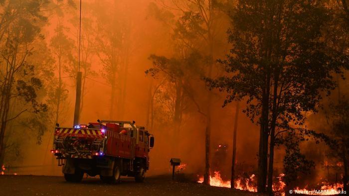Димът от пожарите в Австралия стигна до Южна Америка