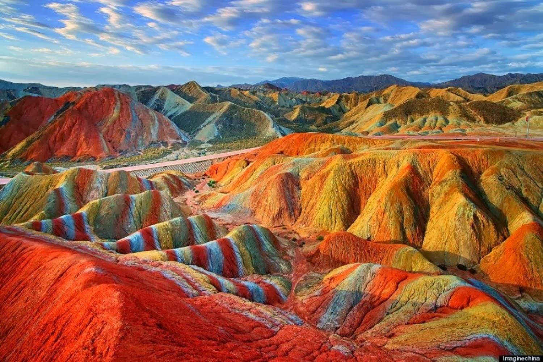 Топ 4 на най-цветните места на Земята