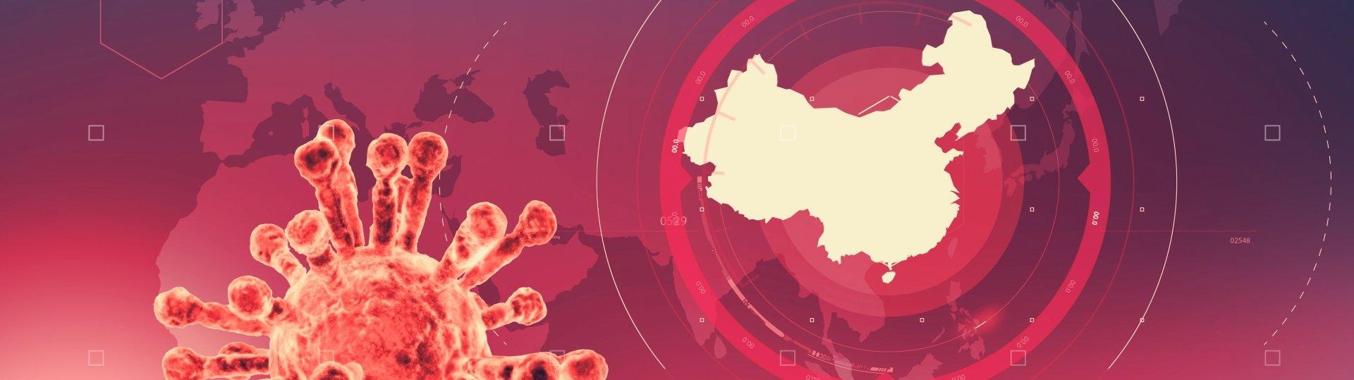 Карта показва в реално време как се разпространява коронавирусът 2019-nCoV