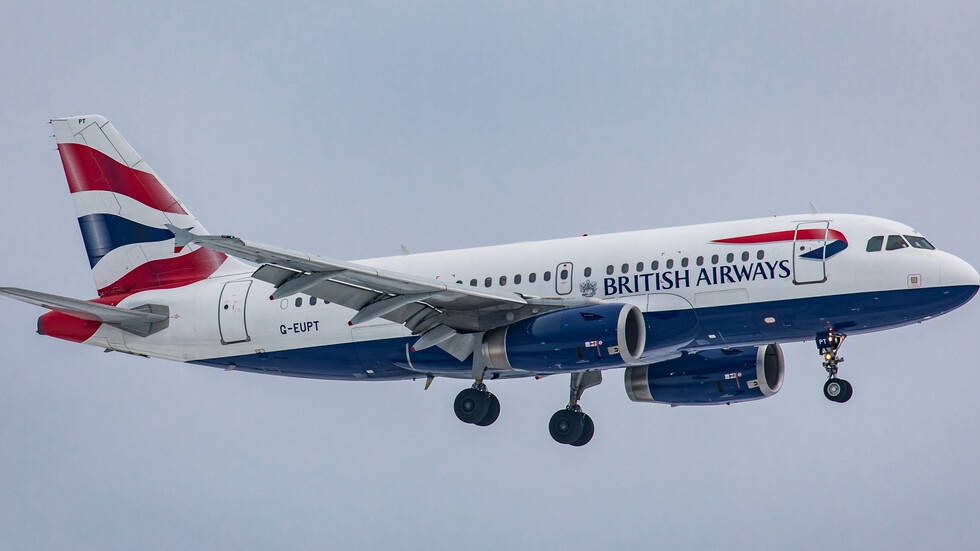 Самолет прелетя от Ню Йорк до Лондон рекордно бързо заради попътен вятър