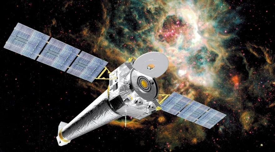 Телескопът Чандра откри как се разширява Вселената