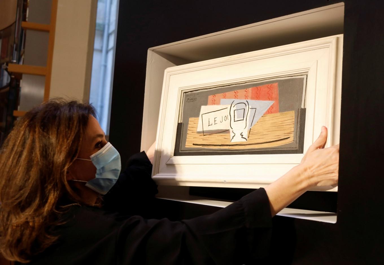Италианка спечели на лотария картина на Пикасо