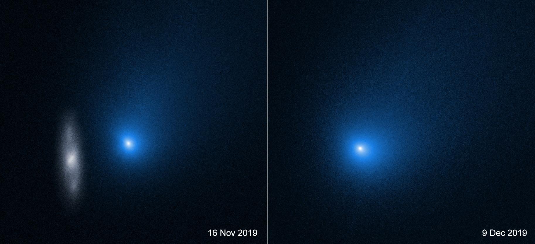 Кометата Борисов оцеляла при прелитането си до Слънцето