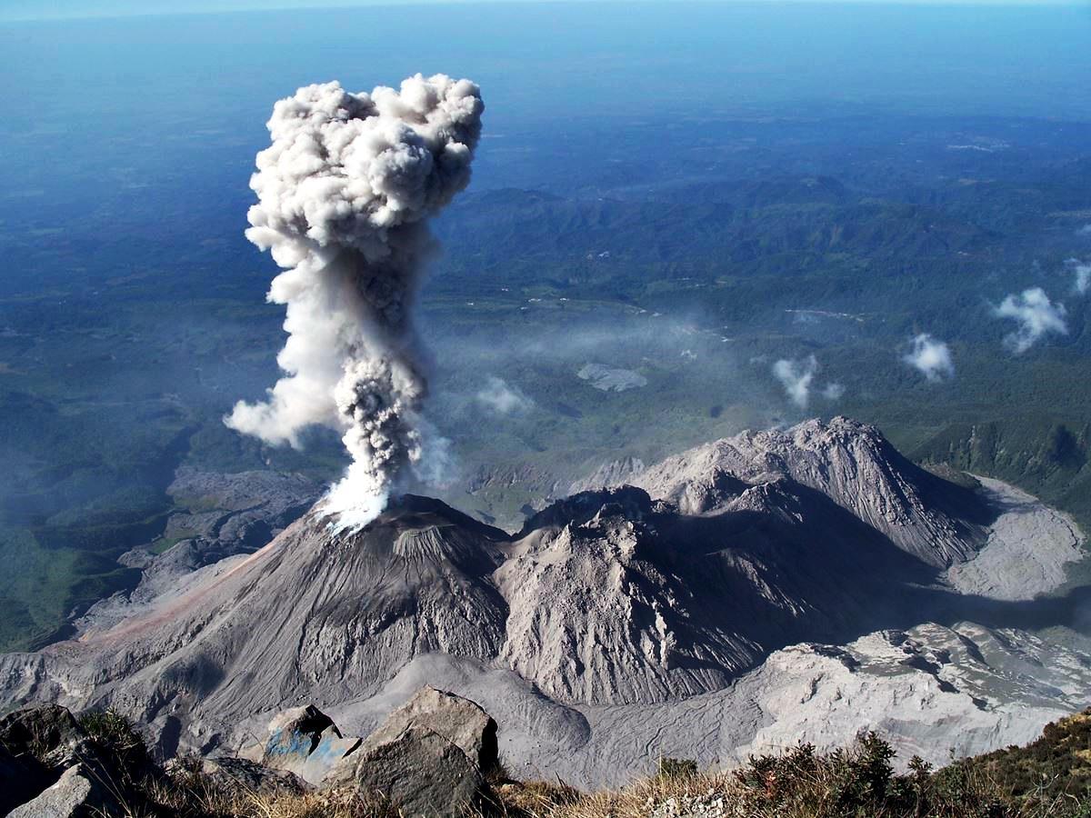 Проучиха с дрон вулкан в Гватемала