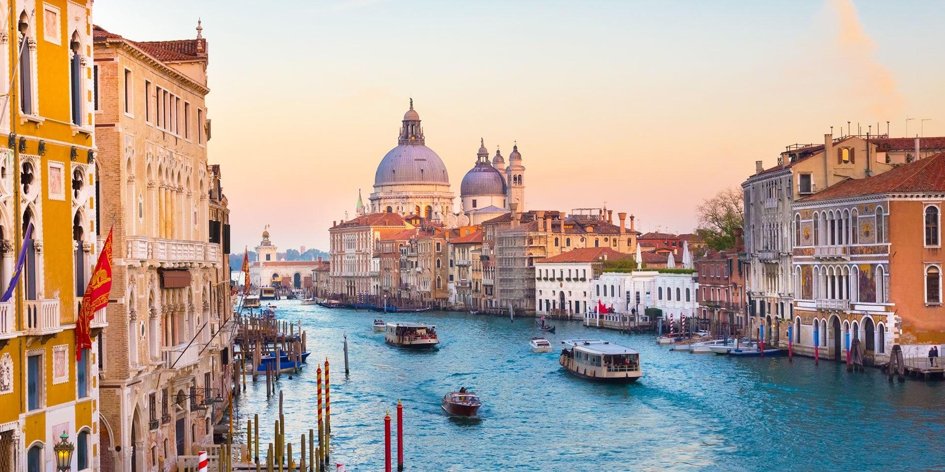 Венеция със система против наводнения