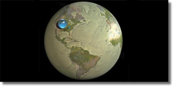 Нова версия за произхода на водата на Земята