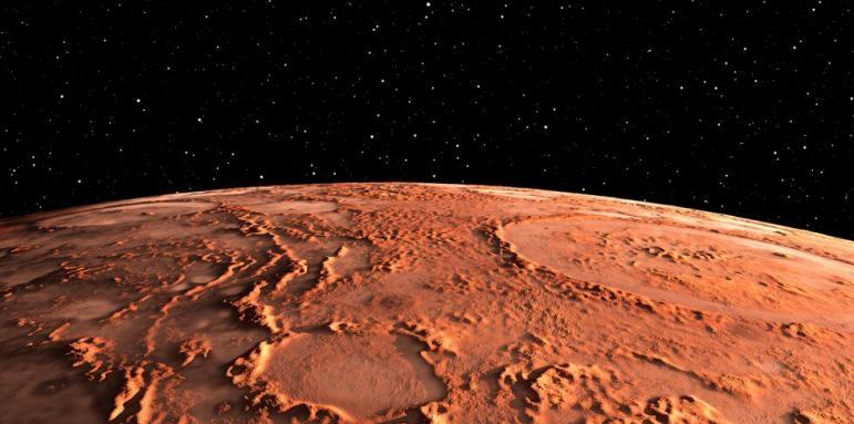 Марс на една ръка разстояние
