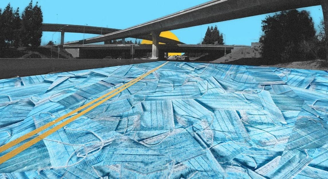 Иновативно: Маски вместо асфалт