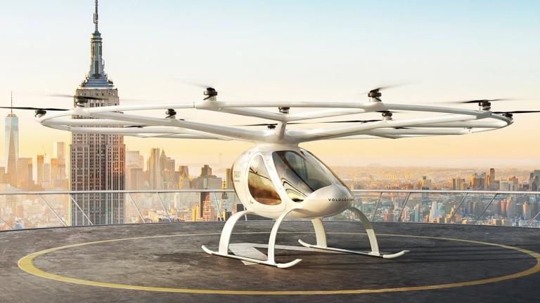 Създадоха летящо такси за олимпиадата през 2024 г. в Париж