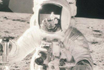 Видео от полета до Луната и камерата, с която е направена снимката
