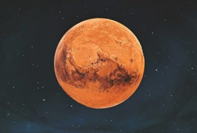 Methane on Mars is collected only at night
