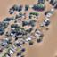 Аерофото помага за планиране на кризи в Австралия