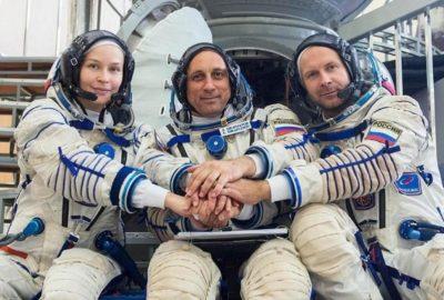 Правят първи филм в космоса