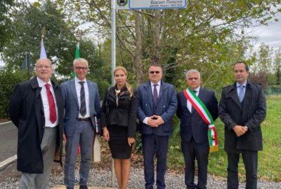 Кръстиха улица на Васил Левски в Италия